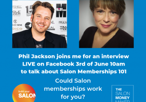 Copy of Phil Jackson joins me for an interview LIVE on Facebook 3rd of June
